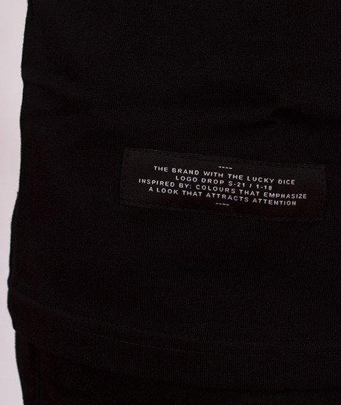 Lucky Dice-Nine Letters T-shirt Czarny/Biały