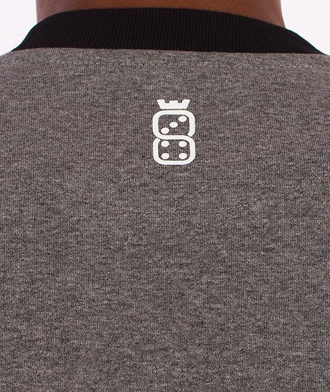 Lucky Dice-Order 13 Bluza Szara/Grafit
