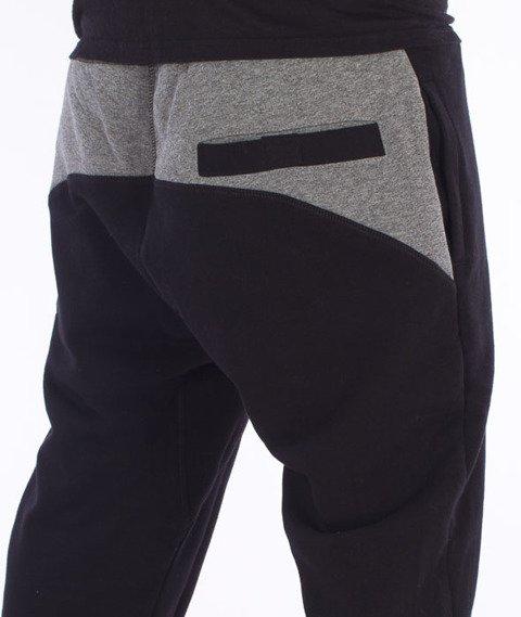 Lucky Dice-Slant Sweatpants Spodnie Dresowe Czarne