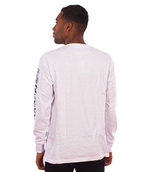 LuxxAll-Worldwide Longsleeve Biały