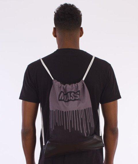 MASS-Cover Gym Bag Worek Czarny/Grafitowy