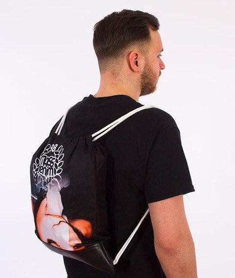 MASS-Exstasy Gym Bag Worek Czarny/Multikolor