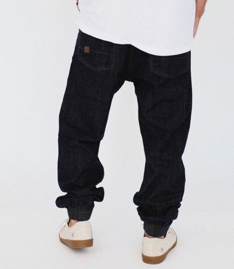 METODA Jogger Jeans Skórka Ciemne Spranie