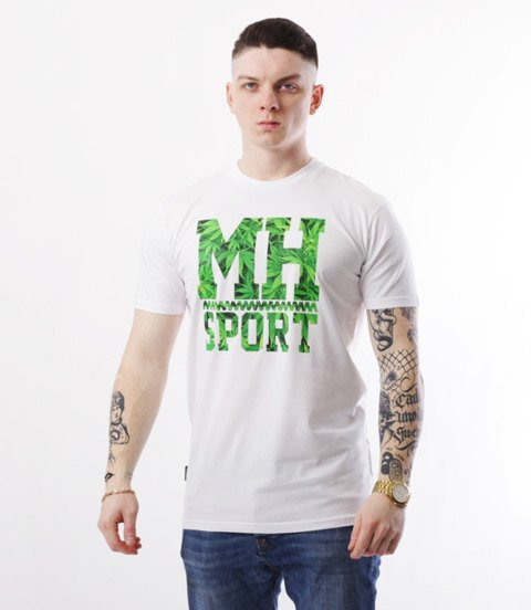 METODA -MH Sport Weed T-Shirt Biały