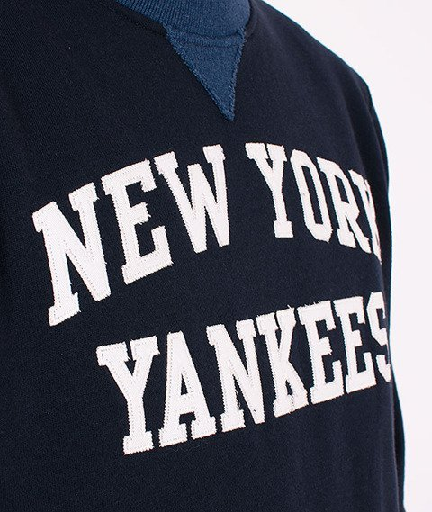 Majestic-New York Yankees Crewneck Navy