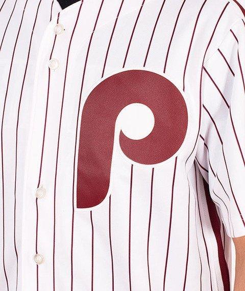 Majestic-Philadelphia Phillies Jersey White