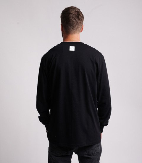 Mass BASE SMALL LOGO Longsleeve Czarny