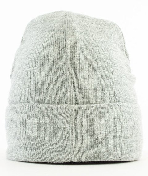 Mass-Base Beanie Czapka Zimowa Light Heather Grey