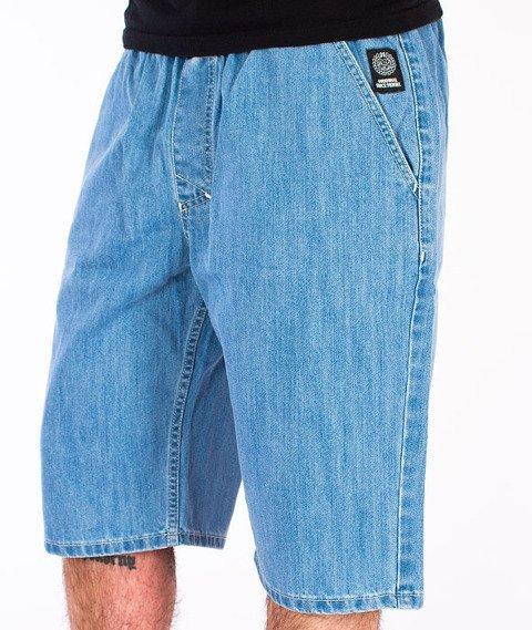 Mass-Base Chino Spodnie Krótkie Jeans Light Blue