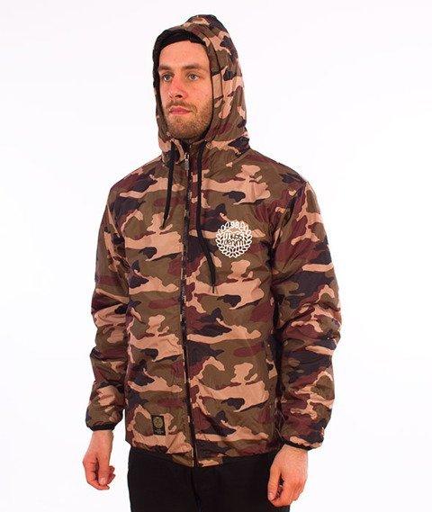 bee7db9407002 Mass-Base Jacket Kurtka Jesienna/Zimowa Woodland Camo - najlepsza ...