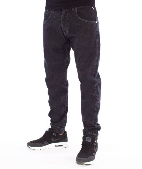 Mass-Base Jogger Pants Sneaker Fit Spodnie Black Rinse