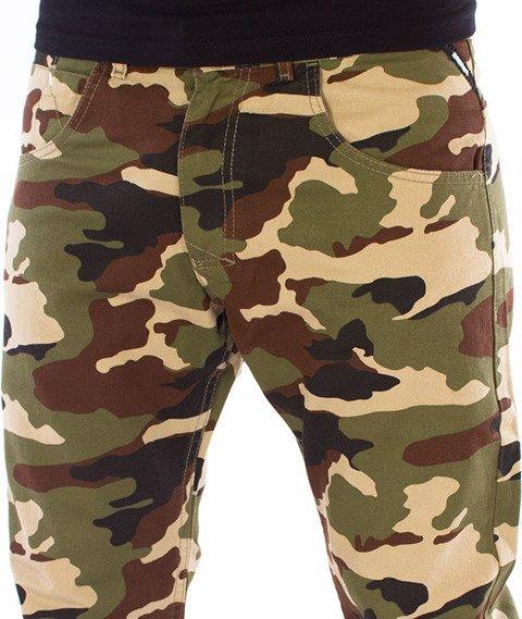 Mass-Base Jogger Pants Sneaker Fit Spodnie Woodland Camo