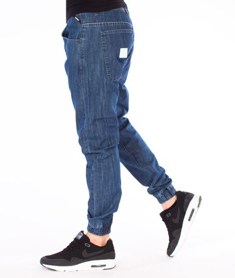 Mass-Base Jogger Pants Spodnie Blue