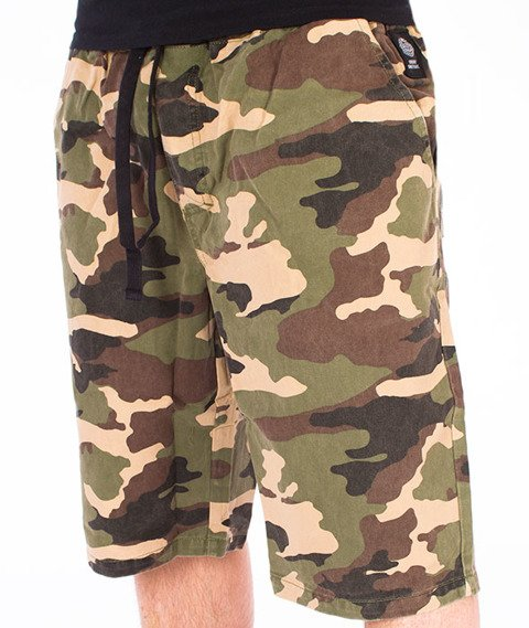 Mass-Base Pants Spodnie Krótkie Camo