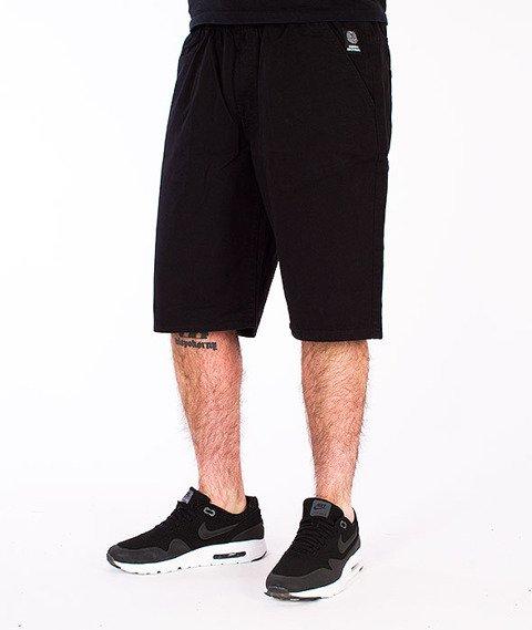 Mass-Base Pants Spodnie Krótkie Czarne