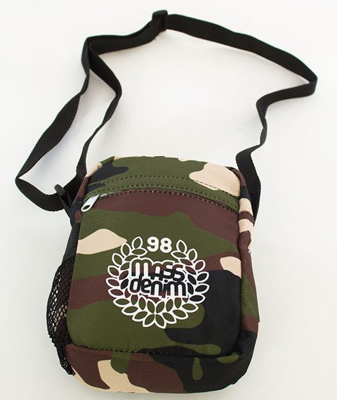 Mass Base Small Bag Listonoszka Woodland Camo