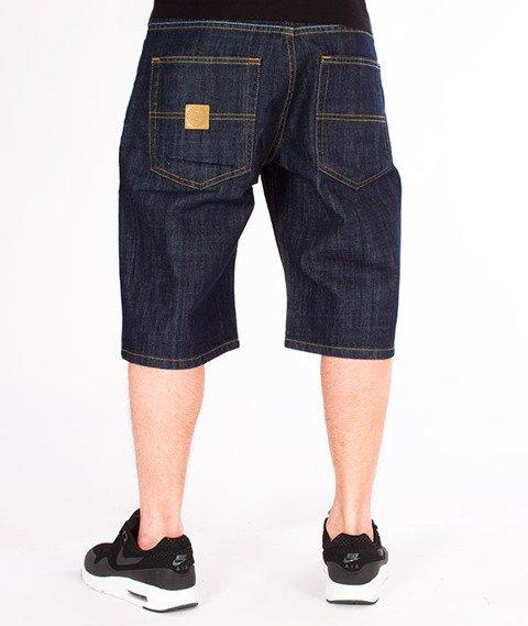 Mass-Base Spodnie Krótkie Jeans Rinse