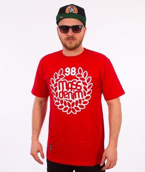 Mass-Base T-shirt Red