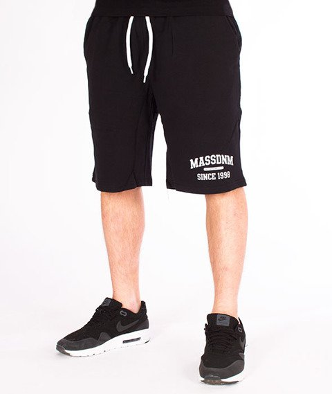 Mass-Campus Spodnie Dresowe Krótkie Black