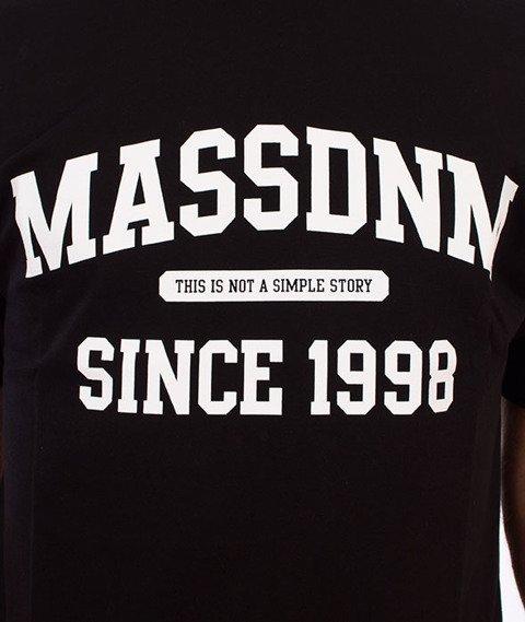 Mass-Campus T-Shirt Czarny