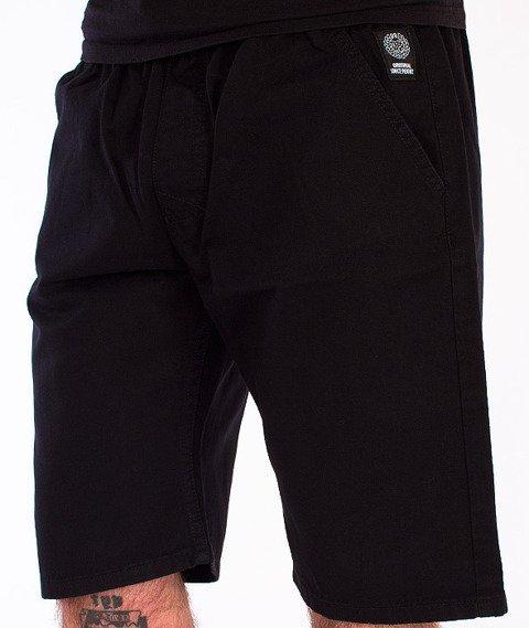 Mass-Classics Chino Spodnie Krótkie Czarne