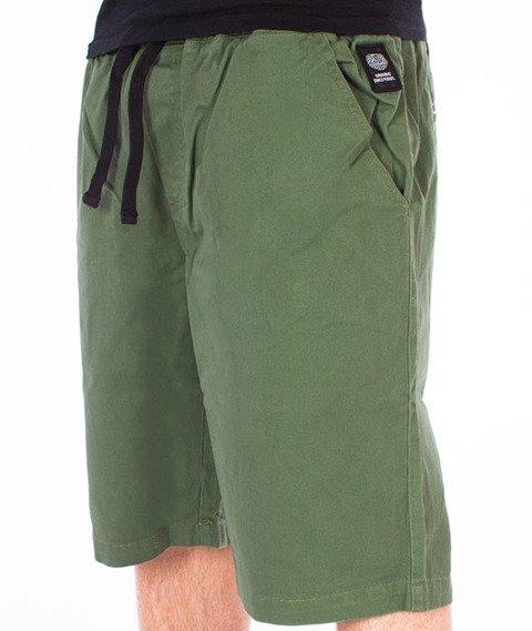 Mass-Classics Chino Spodnie Krótkie Khaki