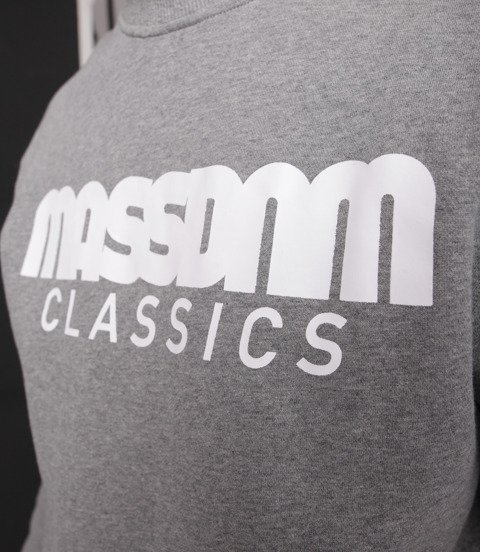 Mass-Classics Crewneck Bluza Light Heather Grey