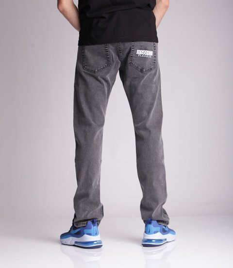 Mass Classics Jeans Straight Fit Black Stone Washed