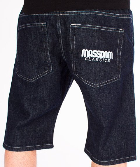 Mass-Classics Shorts Jeans Straight Fit Rinse