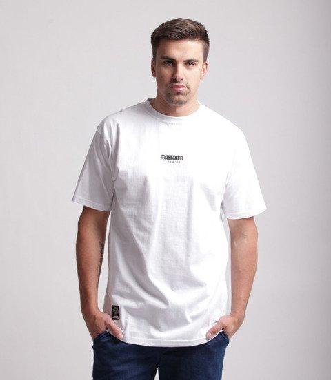 Mass Classics Small Logo T-Shirt Biały