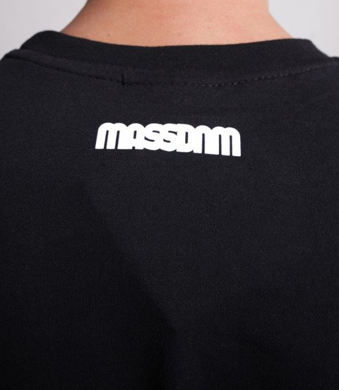 Mass Classics Small Logo T-Shirt Czarny