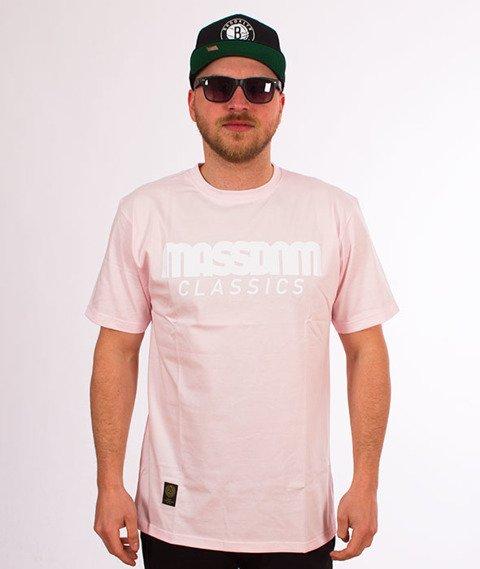 Mass-Classics T-shirt Różowy