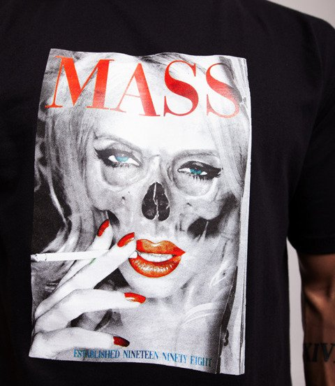 Mass DEADLY LOOK T-Shirt Czarny