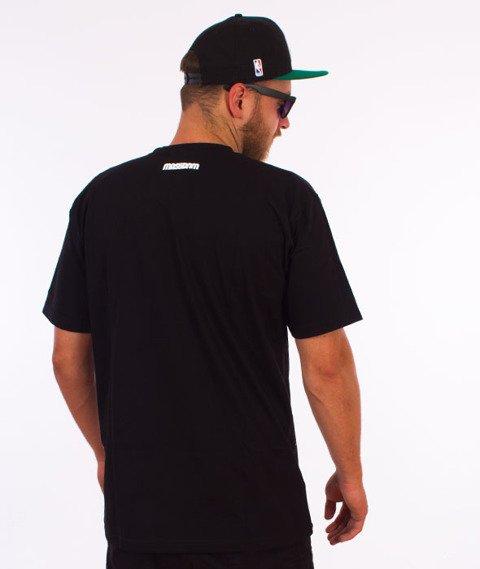 Mass-DJ T-shirt Czarny