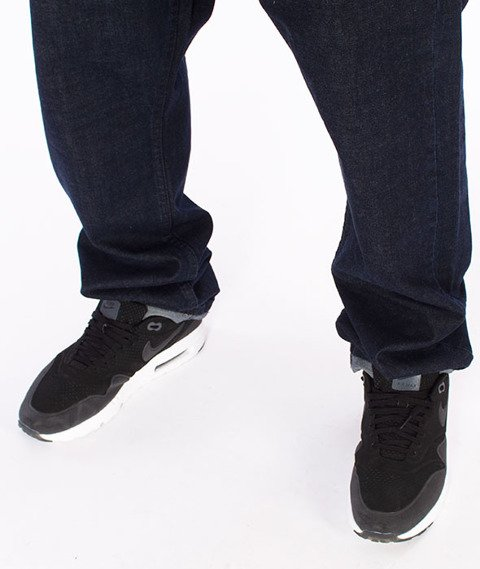 Mass-Dripline Regular Fit Jeans Dark Blue