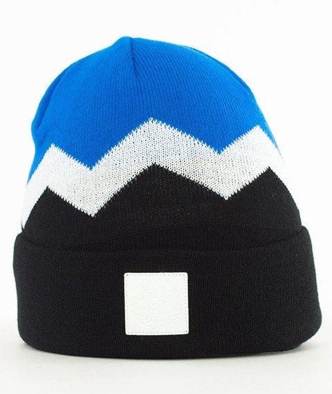Mass-Fang Beanie Czapka Zimowa Czarna/Niebieska