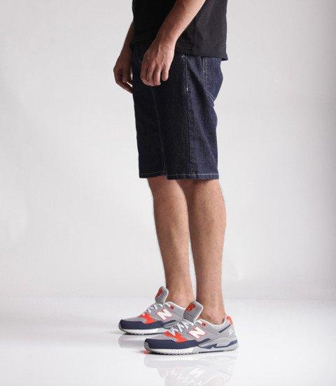 Mass Jeans Classics Straight Fit Spodnie Krótkie Rinse