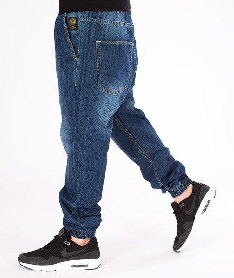Mass-Jogger Jeans Signature Dark Blue