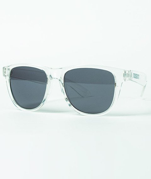 Mass-John Sunglasses Transparent White