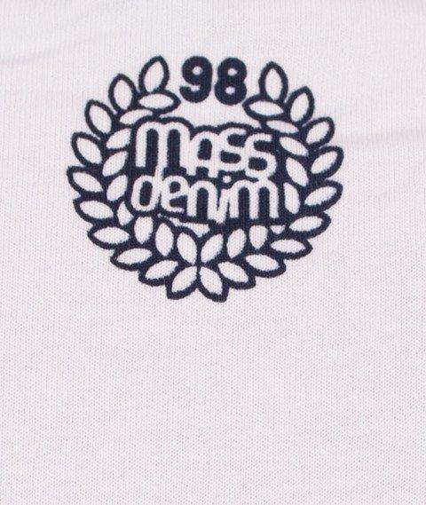 Mass-Levels T-Shirt Biały/Niebieski