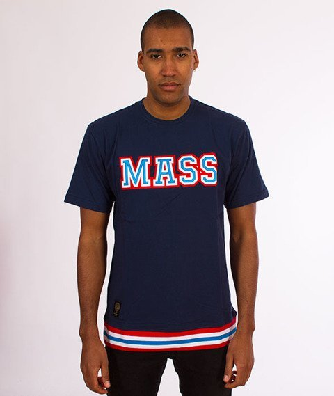 Mass-Liberty T-Shirt Granatowy