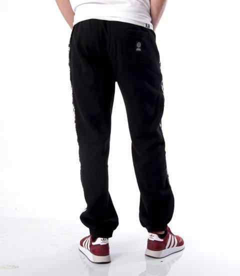 Mass-Mass DNM spodnie dresowe Line Sweatpants Regular Fit Czarne