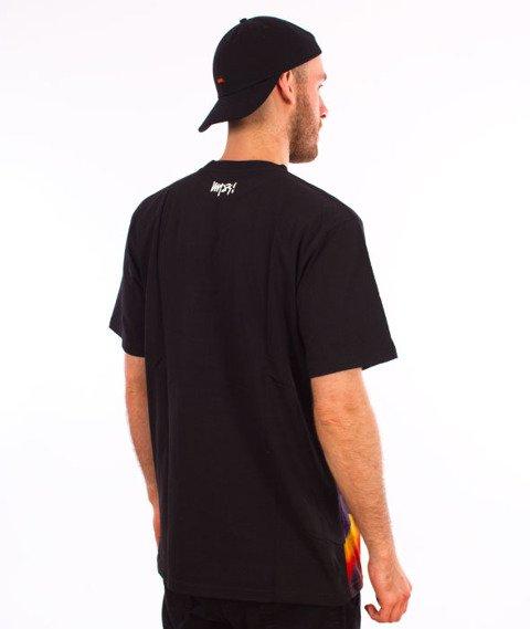 Mass-On the Wall T-Shirt Czarny/Multicolor