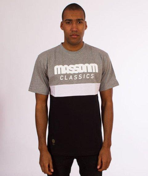 Mass-Respect T-Shirt Grey/Black