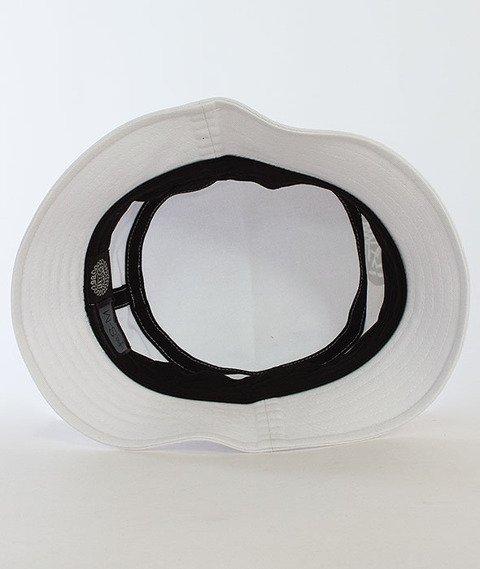 Mass-Signature Bucket Hat Biały