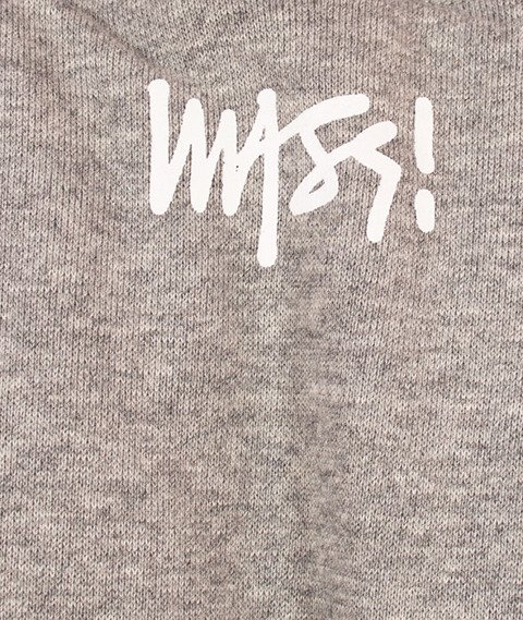 Mass-Signature Crewneck Bluza Light Heather Grey
