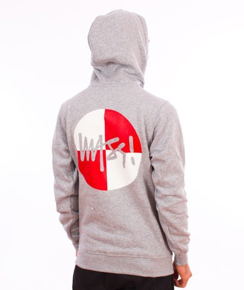 Mass-Signature Flag Bluza Grey