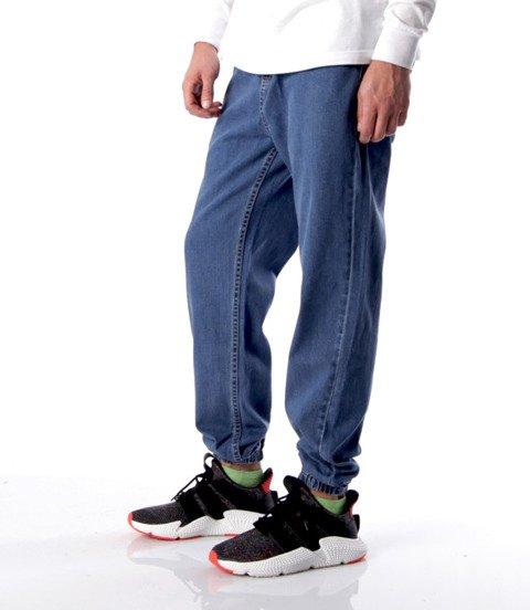 Mass-Signature Jogger Jeans Spodnie Blue