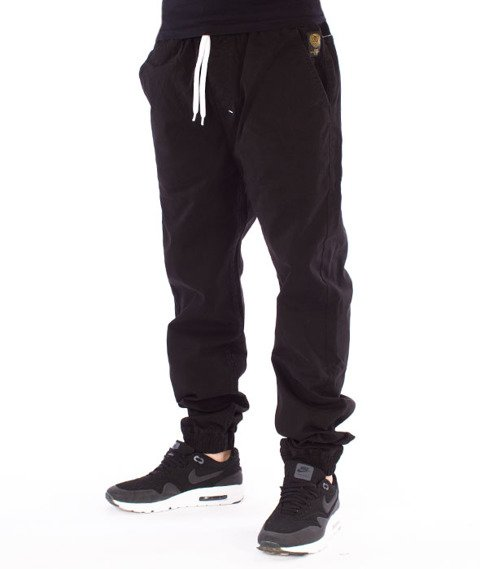 Mass-Signature Jogger Pants Spodnie Black