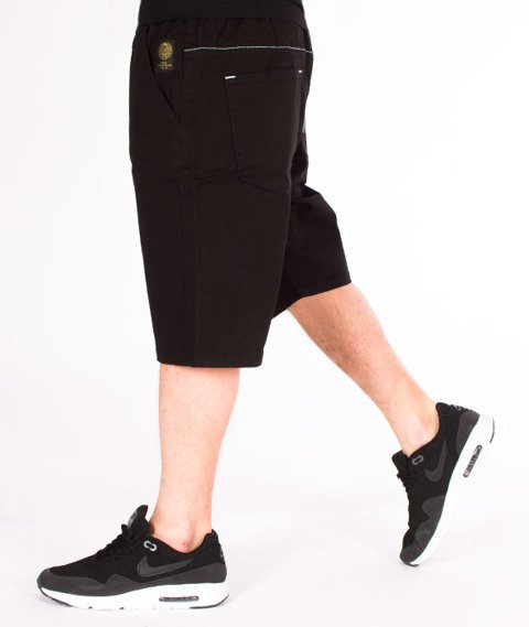 Mass-Signature Shorts Straight Fit Black